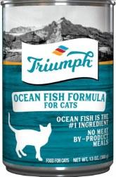 Triumph Ocean Fish Formula Premium Canned Cat Food 13oz