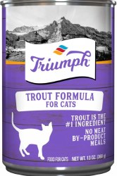 Triumph Trout Formula Premium Canned Cat Food 13oz