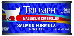 Triumph Salmon Formula Premium Canned Cat Food 3oz
