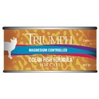 Triumph Ocean Fish Formula Premium Canned Cat Food 3oz