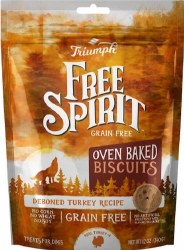 Triump Grain Free Turkey Biscuits 12oz