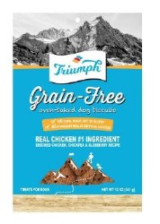 Triumph Grain Free Chicken Biscuits 12oz