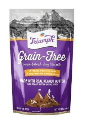 Triumph Grain Free Peanut Butter Biscuits 12oz