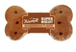 Triumph Super Biscuit Gingerbread Flavor 3.5oz