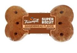 Triumph Super Biscuit Gingerbread Flavor 3.5oz