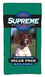 Supreme Value Pack Dog 50Lb