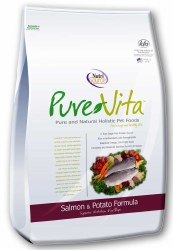 Pure Vita Salmon and Potato Formula Dry Dog Food 15lb