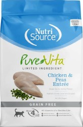 Pure Vita Grain Free Chicken Entree Dry Cat Food 6.6lb