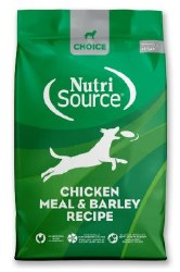 Nutrisource Choice Chicken Meal and Barley 30lb