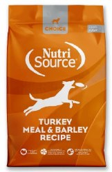 Nutrisource Choice Turkey meal and Barley 30lb