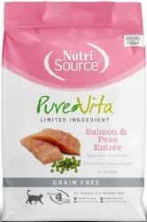 Pure Vita Grain Free Salmon Entree Dry Cat Food 6.6lb