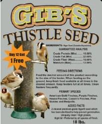 Gibs Thistle Seed  8lb