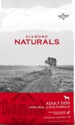 Diamond Naturals Lamb Meal and Rice Formula Adult Dry Dog Food 20lb