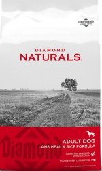 Diamond Naturals Lamb Meal and Rice Formula Adult Dry Dog Food 40lb