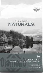 Diamond Naturals Senior Formula Dry Dog Food 6lb