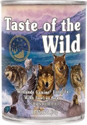 Taste of the Wild Wetlands Grain Free Canned Dog Food 13.2oz