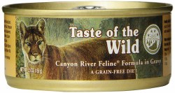 Taste of the Wild Canyon River Feline Trout and Smoked Salmon in Gravy Grain free Canned Cat Food 5.5oz