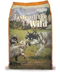 Taste of the Wild Prairie Puppy Venison and Bison Grain Free Dry Dog Food 28lb