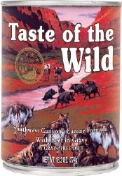 Taste of the Wild Southwest Canyon Grain Free Canned Dog Food 13.2oz
