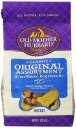 Old Mother Hubbard Classic Original Assortment Mini Biscuits Baked Dog Treats 5oz
