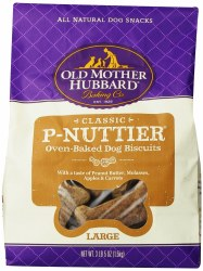 Old Mother Hubbard Classic P Nuttier Large Biscuits Baked Dog Treats 3lb