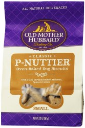 OMH Classic P Nuttier Small Biscuits Baked Dog Treats 20oz