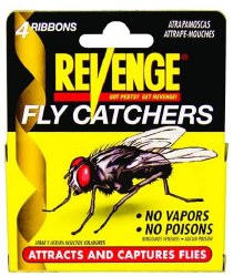Bonide Revenge Fly Catcher Ribbons 4 Pack