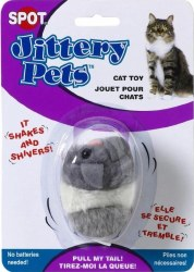 Plush Jittery Mouse