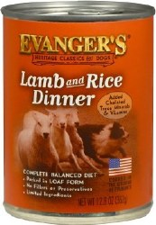 Evanger's Classic Recipes Lamb and Rice Dinner Canned Dog Food 12.8oz