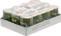 Evanger's Classic Recipes Beef Grain and Gluten Free Canned Dog Food Case of 12 12.8oz