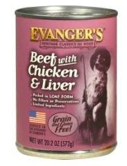 Classic Beef w/Chkn,Lvr 20.2oz