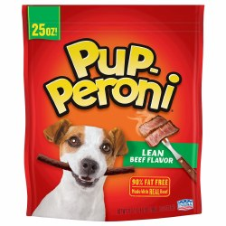 Pup-Peroni Beef Treats 25oz