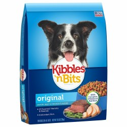 Kibbles n Bits Original Savory Beef and Chicken Flavors Dry Dog Food 16lb