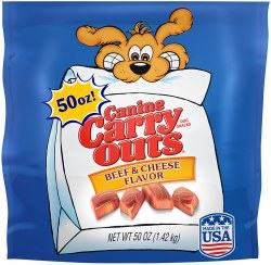 Canine Carry Beef Cheese50oz
