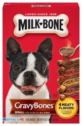Milk Bone GravyBones Small Biscuit Dog Treats 19oz