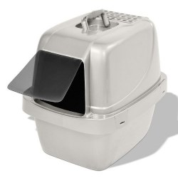Enclosed Sifting Cat Pan