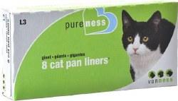 Cat Pan Liners Giant 8 Pk