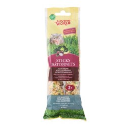 LW Hamster Sticks Veg 2pk