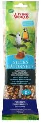 Living World Parrot Honey Sticks 2 Pack