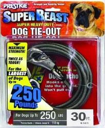 Prestige Super Beast 30ft Tieout Upto 250lbs