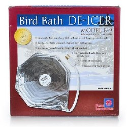 Bird Bath De-Icer