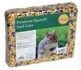 Premium Squirrel Seed Cake 2lb