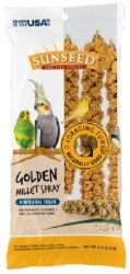 Sun Seed Small Bird Millet Spray Treats 4oz