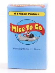 Mice to Go Frozen Pinkies 6pk