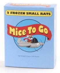 MicetoGo Frozen SM Rat 2-pk