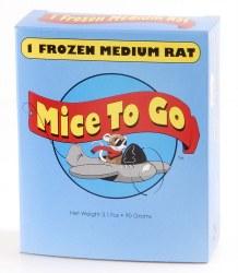 MicetoGo Frozen Med Rat 1-pk