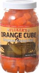 Orange Cube Cricket Diet