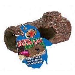 Ceramic Betta Log