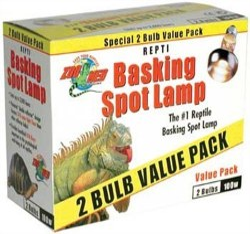 Basking Spot Bulb 2 Pack 75 W
