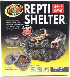 Repti Cave Small Brown